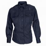 5.11 Women's PDU Long Sleeve Twill Class A Shirt Navy