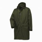 Helly Hansen 70149 Impertech Guide Knee Length Rain Coat Dark Olive