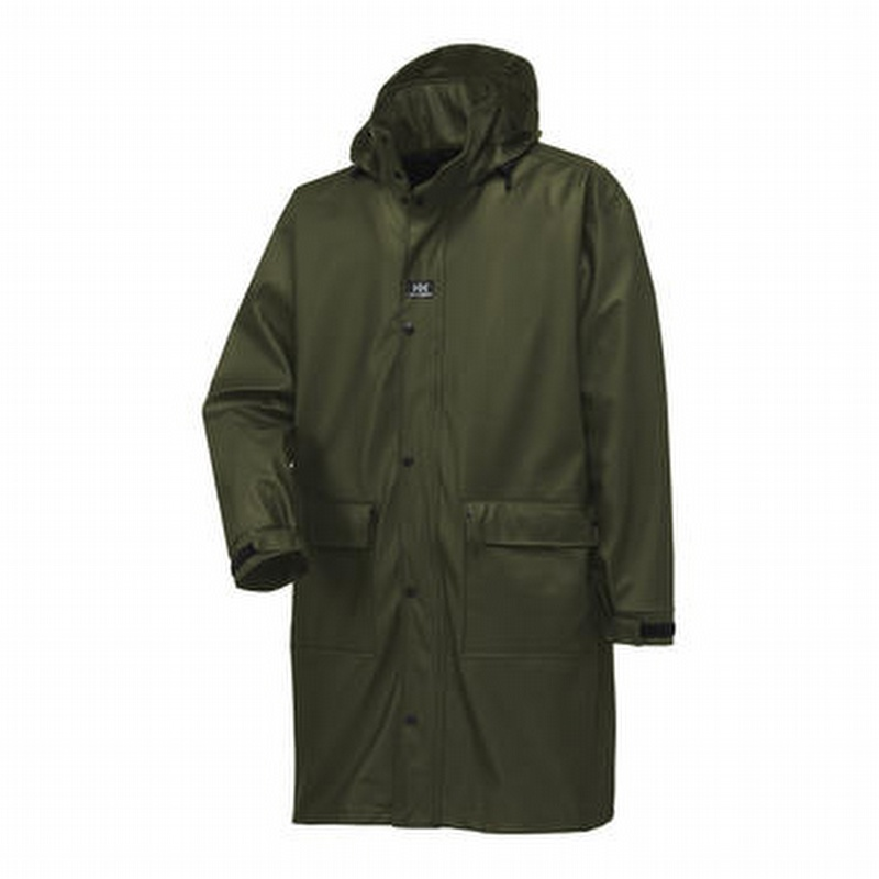 Helly Hansen 70149 Impertech Guide Knee Length Rain Coat