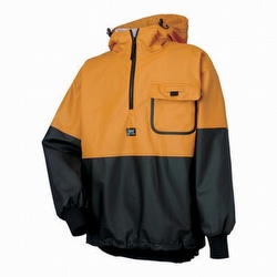 Helly hansen black rain jacket
