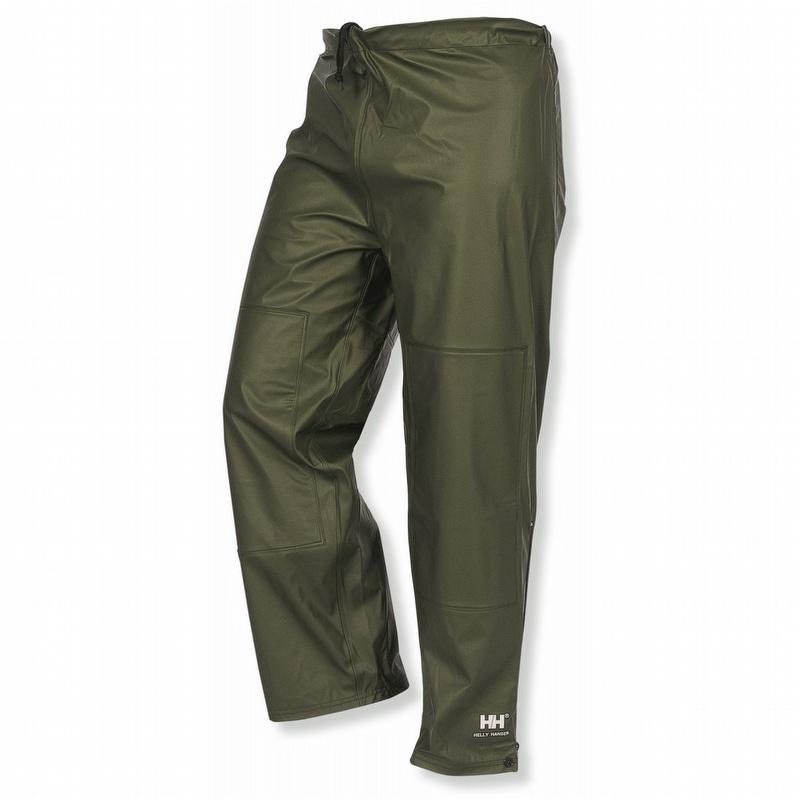 Helly Hansen 70448 Impertech Ii Deluxe Rain Pants Olive