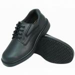 Genuine Grip 7100 Men's Slip-Resistant Soft Toe Lace Up Shoe Black