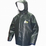7125J Viking Bristol Bay PVC Jacket with Hood Green