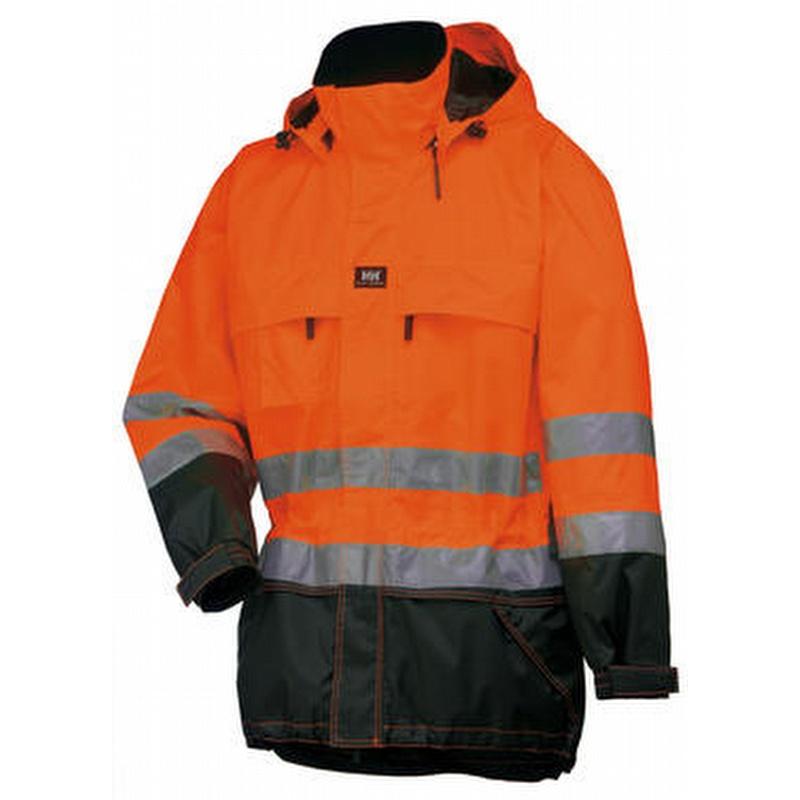 Helly Hansen 71374 Potsdam Waterproof Jacket Orange Navy