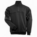 5.11  1/4 Zip Job Shirt Black