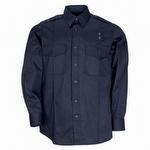 5.11 Men's PDU Long Sleeve Twill Class A Shirt Navy