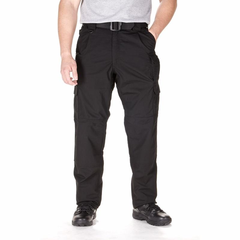 black tactical cargo pants - photo #3