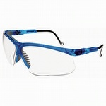 UVEX by Sperian Genesis Vapor Blue Frame Safety Glasses