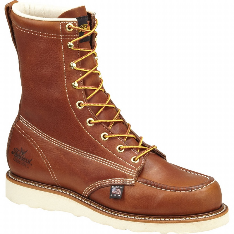 Thorogood 8 Inch Moc Toe Steel Safety Toe Wedge 8044208