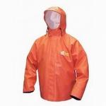 8125J Viking Bristol Bay PVC Jacket with Hood Orange