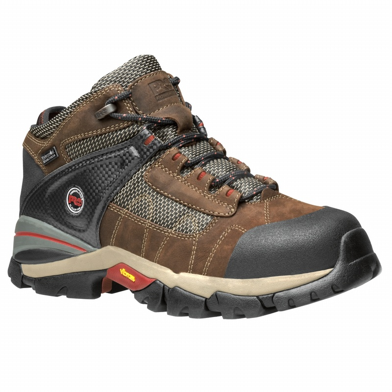 90b378a66b1 Timberland Pro 91696 Hyperion 4-inch Waterproof Alloy Toe Shoe