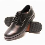 Genuine Grip 9540 Men's Slip-Resistant Soft Toe Oxford Black