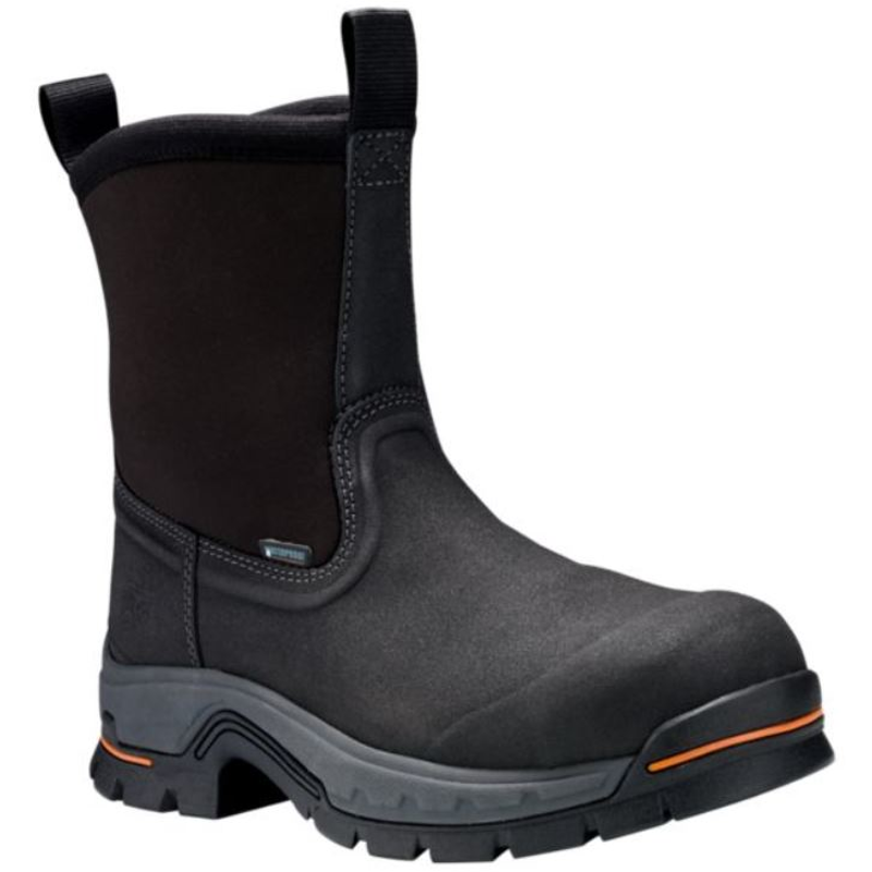 cb891170f9d Timberland Pro A1AXG Stockdale Pull On Safety Toe WaterProof