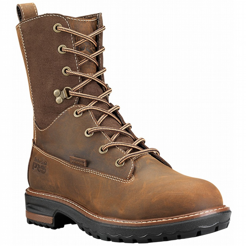 50ae3e13172 Timberland A1KJ5 Women's Hightower 8-inch Waterproof Alloy Toe Boot