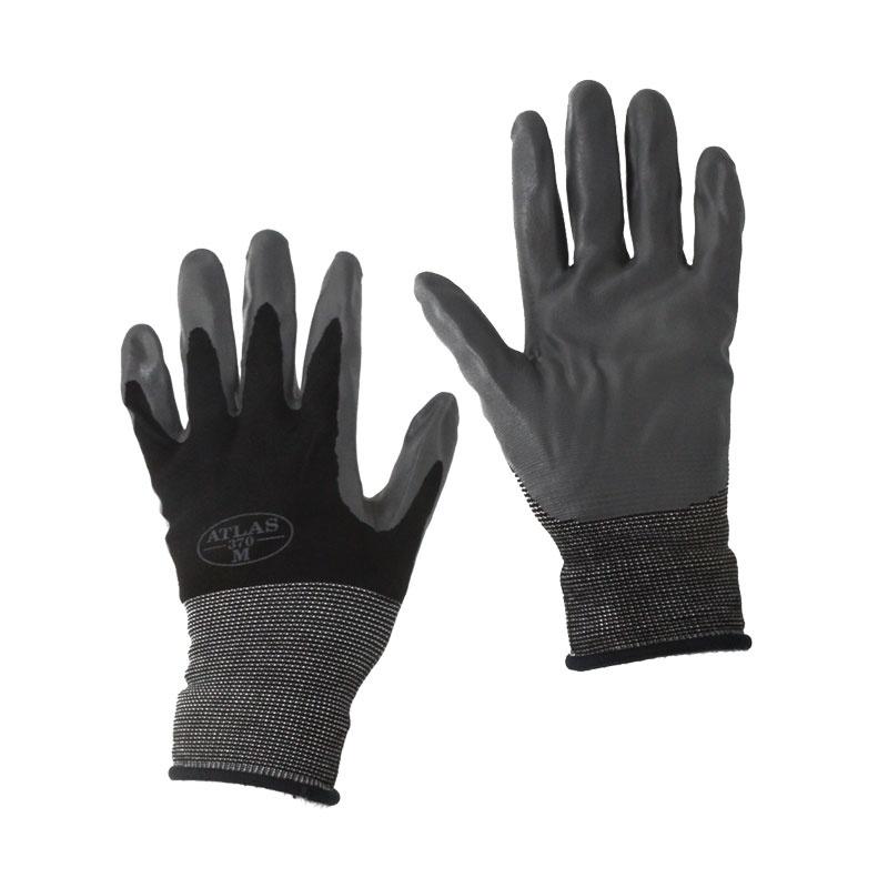 Second Skin Nitrile Gloves Black A370
