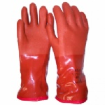 Orange Insulated PVC Gloves