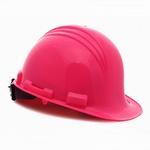 North Peak Hard Hat with Ratchet Adjustment Hot Pink