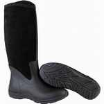 Muck Boots Women's Arctic Adventure Zip Suede Boots Black
