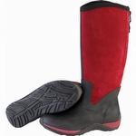 Muck Boots Women's Arctic Adventure Zip Suede Boot Maroon