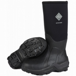 Muck Boot's Black/Gray Men's Arctic Ice Mid Boot with Fleece Lining - Size 8 VPlci8A0l