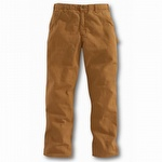 Carhartt B11 Washed-Duck Work Dungaree Carhartt Brown