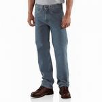 Carhartt B480 Traditional-Fit Straight-Leg Jean Deepstone