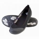 Muck Boots Breezy Ballet Flat Black