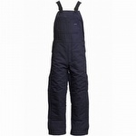 Lapco FR 12oz Cotton Duck Insulated Bib Overalls Navy