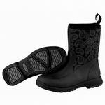 Muck Boots Women's Breezy Mid Black Bandana