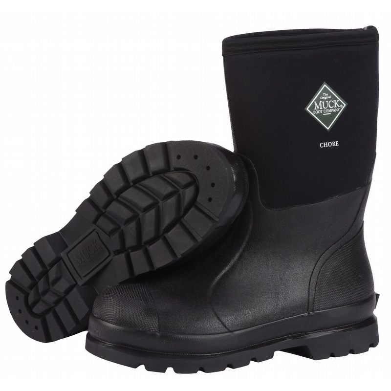 Muck Boots Chore 12-inch Mid Work Boots - CHM000A