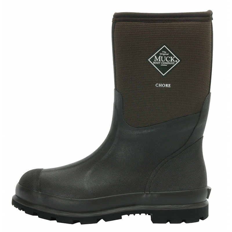 Muck Boots Chore Cool 12-inch Mid Work Boots - CMCT900