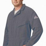 Bulwark 5.8 oz CoolTouch 2 Grey Deluxe Coverall