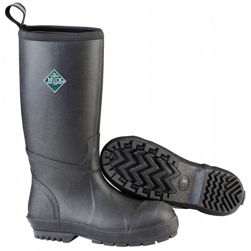 70f29dd3944 Muck Chemical & Slip Resistant S/T Rubber Chore Boot Tall