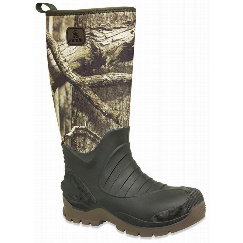 309bfcd4b4c Kamik USA Made Bushman Camo Insulated 7mm Neoprene Rubber Boots