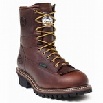 Georgia Waterproof 8-inch Logger Boots