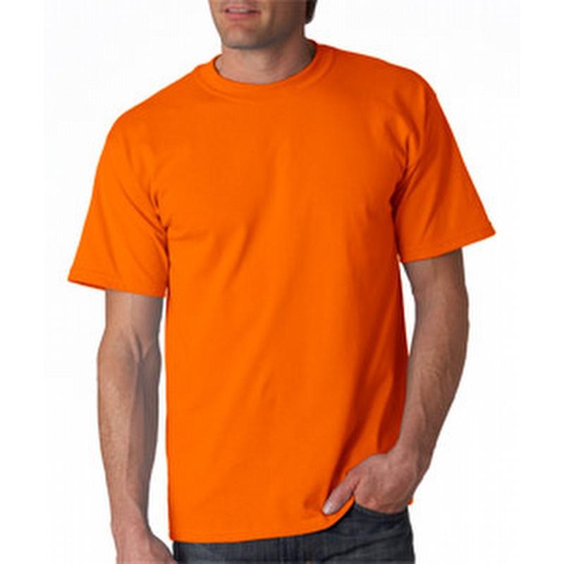 Gildan 2000 Safety Orange Tee Gd2000ora