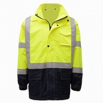 GSS Safety 6003 Class Three Premium Raincoat