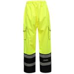 GSS Safety 6711 Onyx Rain Pants Class E Hi Viz Lime