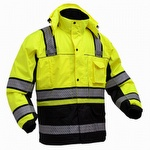 GSS Safety 8505 3-in-1 Class 3 Performance Hi-Viz Winter Parka