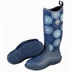 Muck Boots Women's Hale Winter Boot Navy Snowflake