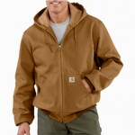 Carhartt J131 Thermal-Lined Duck Active Jac Carhartt Brown