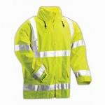 Tingley Vision Hi Viz Hooded Jacket Fluorescent Yellow