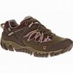 Merrell Women's AllOut Blaze Waterproof Hiking Shoe Black Slate/Blush