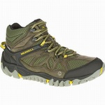 Merrell J32787 Men's All Out Blaze Vent Mid Waterproof Olive