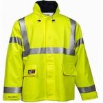 Tingley Eclipse Hi Viz Fire Resistant Jacket Yellow-Green