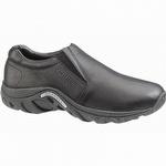 Merrell J60889 Men's Jungle Moc Leather Slip On Shoes Black
