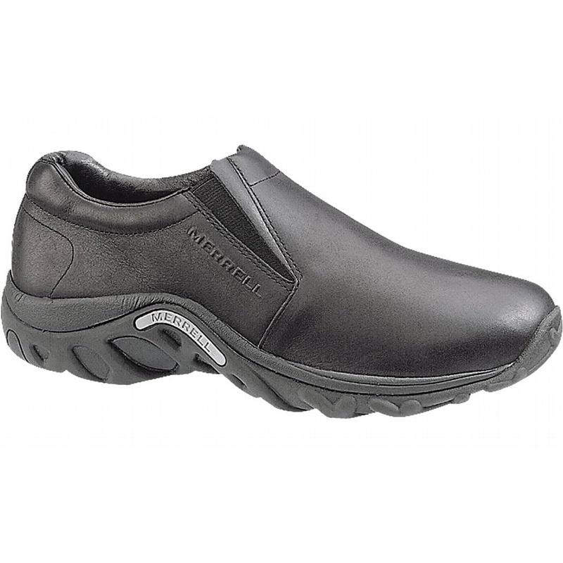 049a4f8a41b Merrell J60889 Men s Jungle Moc Leather Slip On Shoes Black - J60889