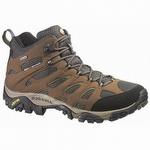 Merrell J87701 Men's Moab Mid Gore-Tex XCR Hiking Boot Dark Earth