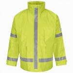 Bulwark Hi-Visibility Flame-Resistant Rain Jacket