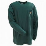 Carhartt K126 Workwear Pocket Long-Sleeve T-Shirt Hunter Green